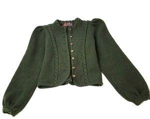 Gorgeous vintage German wool cropped jacket S